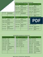2019 2020 schedule overview