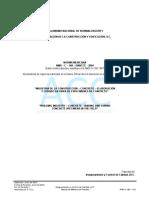 Metodo de Prueba NMX C 160 ONNCCE 2004