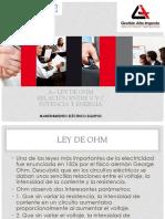 34_ Ley de Ohm Relación v-I Potencia y Energia 1