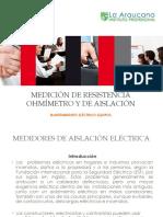 52_ Medidores de Resistencia Ohmímetro y de Aislación
