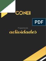 Programa de Actividades CONEII OFICIAL