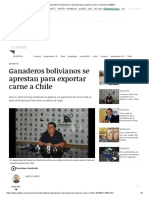 11 MARZO Ganaderos Bolivianos Se Aprestan Para Exportar Carne a Chile _ EL DEBER