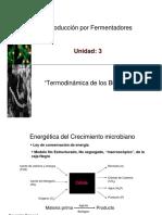 Termodinámica del Crecimiento Microbiano