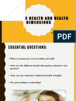 Holistic Health and Health Dimensions