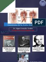 ANEURISMA DE AORTA ABDOMINAL Y GENERALIDADES DE ANEURISMA.pptx