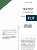 Asinelli - Modernización del Estado argentino