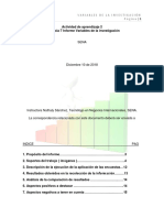 Evidencia 7 Informe Variables de La Investigacion