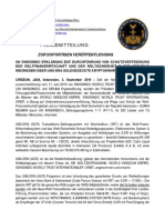 2019-09-03 GERMAN PRESS RELEASE - UN SWISSINDO DECLARATION TRANSACTION TO DEFEND WORLD FINANCIAL ECONOMY AND WORLD SECURITY IN THE REPUBLIC OF INDONESIA VIA UNS-DRA GOLD BACKED CRYPTOCURRENCY