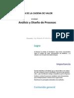 U2_ Analisis y Diseño de Procesos