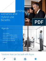 Azure - Advance Licensing Scenarios and Hybrid Use Rights - Slides
