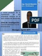 Actividad 3Impacto ambiental y social producto de la explotación de las empresas mineras en el arco minero de Venezuela