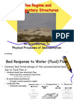 Flow Regime and Sedimentary Structures