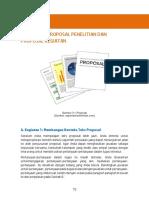 Menganalisis Model Teks Proposal Penelitian
