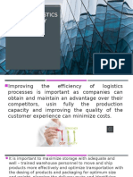 Evidencia 7 Improve Logistics Efficiency