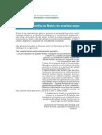 Matriz Desarrollo organizacional