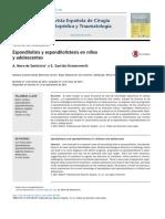 espondilisis y espondilolistesis en niños