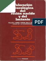 Amiel Tison Valoracion Neurologica Del Recien Nacido y Del Lactante