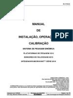 Manual de Instalação, Manutenção, Operação e Calibração - Balança Engeletro