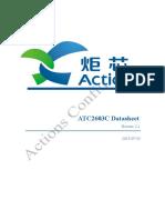 Datasheet for ATC2603C V2.1