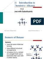 11.3 Alkanes With Substituents