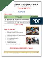 Centro Especializado de Atención Integral de La Niña y El Niño
