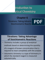 Introduction to Titrations