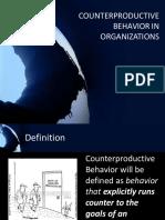 Counterproductivebehaviorinorganizations 140217102848 Phpapp02 (1)