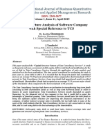 Financial Analysis of Software company