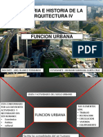 Funcion Urbana