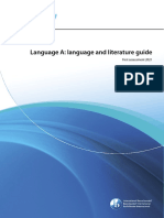 Language a- Language and Literature Guide