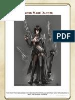 DnD Class Sword Mage Dancer
