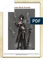 DnD Class Sword Mage Dancer