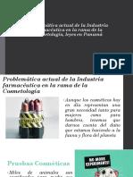 Problemática Actual de La Industria Farmacéutica en La Rama de La Cosmetología, Leyes en Panamá