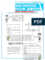 Metodos Operativos 1 Para Quinto de Secundaria