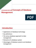 Chapter 01 Fundamental Concepts of Database Management
