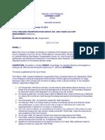 Stolt-nielsen Transportation Group, Inc. Case