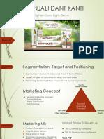 Marketing Management Dant Kanti PPT