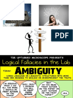 Fallacy of Ambiguity1