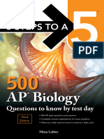 5 Steps to a 5 - 500 AP Biology Questions to Know by Test Day.epub