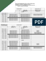 Jadwal Psik Semester v Dan Vii Gasal 2019-2020