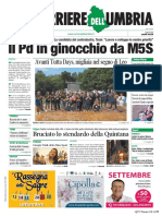 Rassegna stampa dell'Umbria 8 settembre 2019 UjTV News24 LIVE