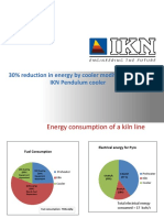 30 Reduction in Energy by Cooler Modification With IKN Pendulum Cooler