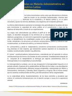 Rasgos TracendentalesMateria Administrativa Constituciones AmericaLatina