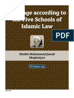 Marriage According to the Five Schools of Islamic Law