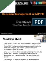Document Management in SAP PM 12b