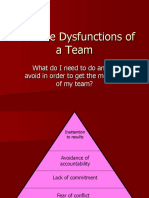 dysfunctions of a team 5