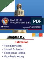 Ch 7 _7.1 7.2 Estimation Nalanda