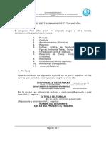 Normativa Para El Formato de Los Trabajos de Titulacion
