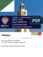 SR EVS Lecture1 1st Sem 2018-2019