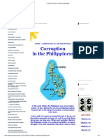 - Corruption in the Philippines